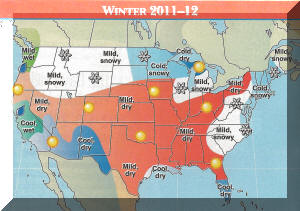 Review of Farmers Almanac 2011-12 Winter and Summer Forecasts